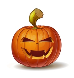 Pumpkins Vimpire 1 vector image vector image