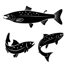 Salmon logo vector