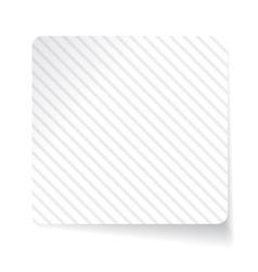White paper sticker vector image