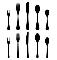 cutlery 2 vector image