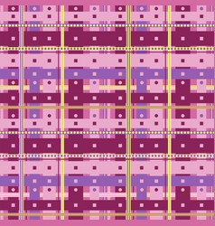 abstract purple cells vector image