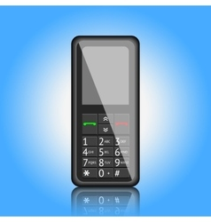 Mobile phone vector image vector image