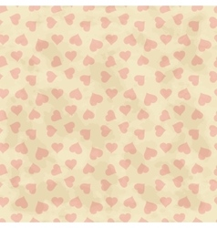 Abstract background with hearts seamless vector image