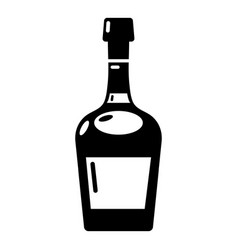 alcohol icon simple style vector image vector image
