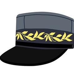 Army headgear cap vector