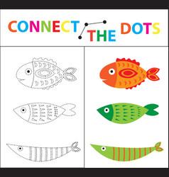 children s educational game for motor skills vector image