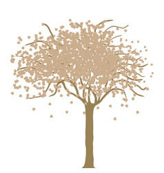 Imaginative tree vector