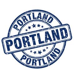Portland stamp vector