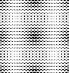 seamless pattern with circle halftone vector image