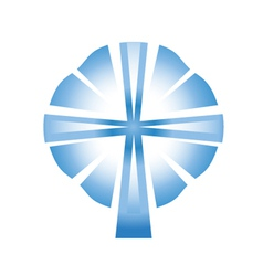 cross spirit vector image
