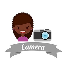 Camera photography design vector