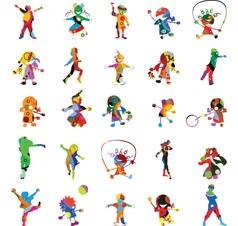 Kids kids kids vector image