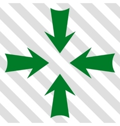 Reduce arrows icon vector