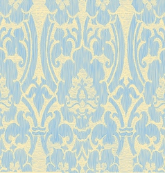 Light abstract striped floral pattern vintage vector