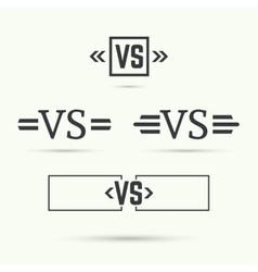 Versus sign vector