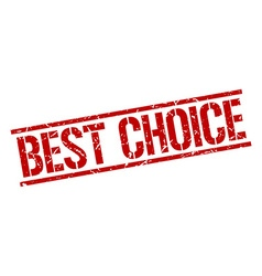 Best choice stamp vector