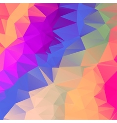 Abstract polygonal mosaic background eps vector