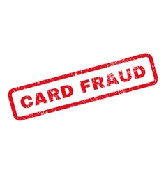 Card Fraud Text Rubber Stamp vector image vector image