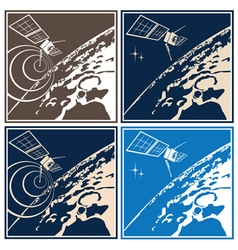 Deep space explorer vector