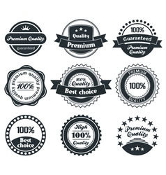 Retro Vintage Label collection vector image vector image