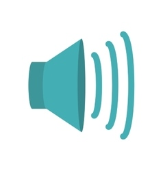 volume speaker icon vector image vector image