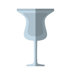 Glass cup cocktail drink beverage shadow vector