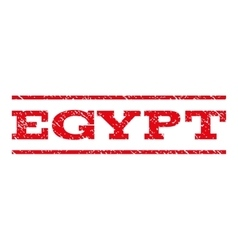 Egypt watermark stamp vector