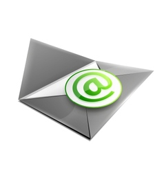 Email concept icon vector