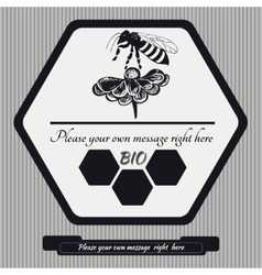 Emblem for honey12 vector
