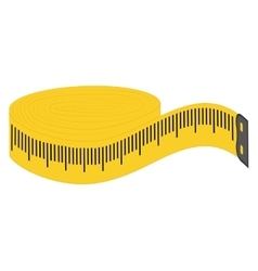 Meter icon tape measure design graphic vector