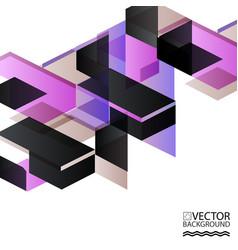 Abstract digital memphis style geometric trendy vector