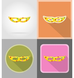 celebration flat icons 11 vector image