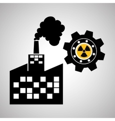 Industry design plant and factory concept vector
