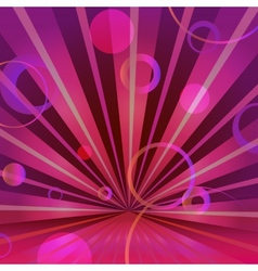 Abstract burgundy background with circles and vector