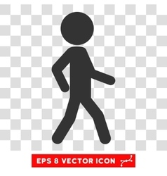 Walking child eps icon vector