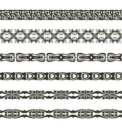brushwebbing pattern vector image