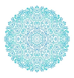 Abstract Flower Mandala Decorative ethnic element vector image vector image