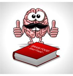 Brain food - soul food vector