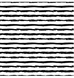 painted striped pattern from brush strokes vector image