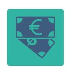 Banknotes icon vector