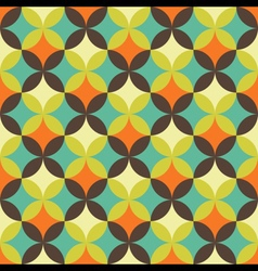Abstract retro geometric patterns set vector