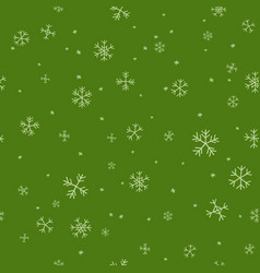 christmas hand draw pattern vector image