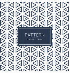 Triangles outline shapes pattern design background vector