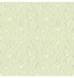 valentine seamless pattern in retro subdued tints vector image