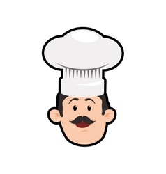 Chefs hat chef man male avatar person icon vector
