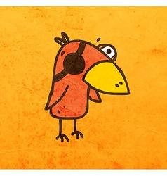 Parrot Cartoon vector image