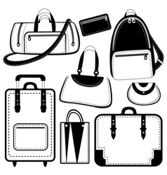 Bag set vector