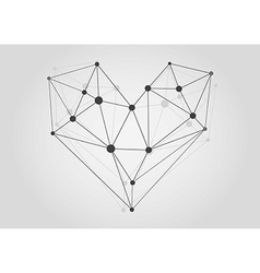 Black and white lattice shape symmetric lined vector