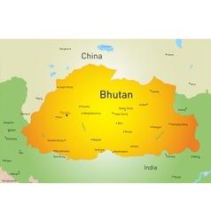 Bhutan vector image vector image