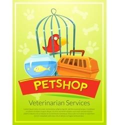 Petshop vector image vector image